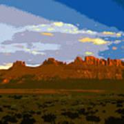 John Wayne Country Art Print
