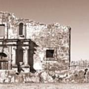 John Wayne's Alamo Mission Art Print