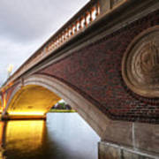 John Weeks Bridge Charles River Harvard Square Cambridge Ma Art Print