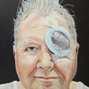 John's Eye Surgery Art Print