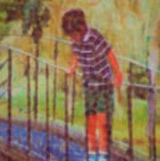 John's Reflection Art Print