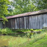Johnson's Mill/salt Creek Covered Bridge  Art Print