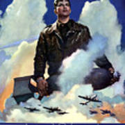 Join The Army Air Forces Art Print