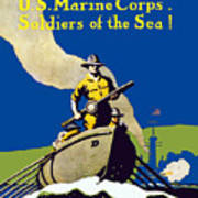 Join The US Marines Corps Art Print