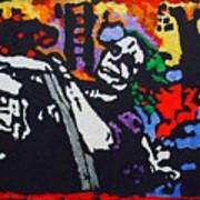Joker Joy Ride Art Print