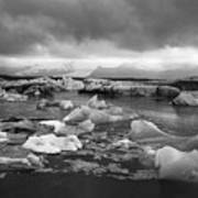 Jokulsarlon Glacier Lagoon Iceland 2041 Art Print