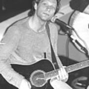 Jon Bon Jovi Acoustic Art Print