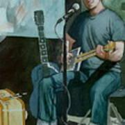 Jon Short-have Blues Will Travel Art Print