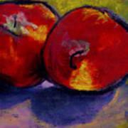 Jonathan Apples Art Print