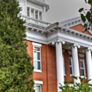 Jonesborough Courthouse Tennessee Art Print