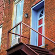 Jonesborough Tenessee - Upstairs Neighbors Art Print