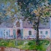 Jonkerhshuis At Groot Constantia Art Print