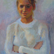 Jordan Dennis - Junior Miss 2005 Art Print