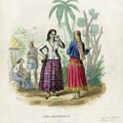 Josefa Martines Et Panchita Reyes Art Print