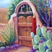 Josefina's Gate Art Print