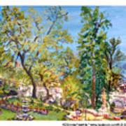 Josephine Gardens Art Print