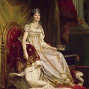Josephine In Coronation Costume Art Print