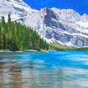 Josephine Lake Art Print