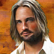 Josh Holloway Art Print
