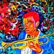 Joshua Bluegreen-cripps Art Print