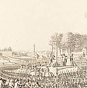 Journee Du 16 Octobre 1793, La Morte De Marie-antoinette Art Print