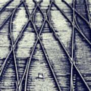 Journey Marks Art Print