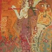 Journey With Ishtar  Art Print