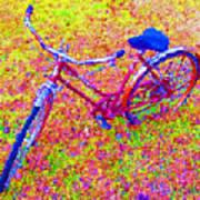 Joy, The Bike Ride Art Print