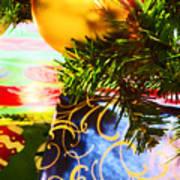 Joy Of Christmas 2 Art Print