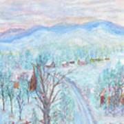 Joy of Winter Art Print