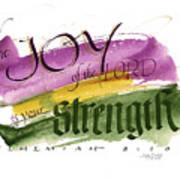 Joy Strength II Art Print
