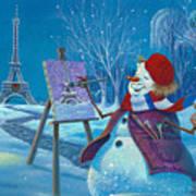 Joyeux Noel Art Print