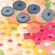 Joyful Garden 3 Art Print