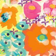 Joyful Garden Art Print