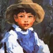 Juan Also Known As Jose No 2 Mexican Boy 1916 Art Print