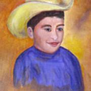 Juan, 16x20, Oil, '07 Art Print