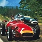 Juan Manuel Fangio Art Print