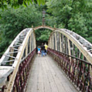Jubilee Bridge - Matlock Bath Art Print