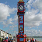 Jubilee Clock - Weymouth Art Print