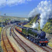 Jubilee Trafalgar At Mangotsfield Art Print