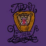 Judah The Real Lion King Art Print