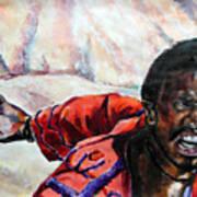 Judas - Too Far Art Print