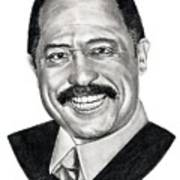 Judge Joe Brown Art Print