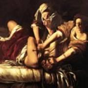 Judith Beheading Holofernes 1620 Art Print