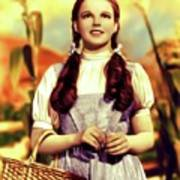 Judy Garland, Dorothy Art Print