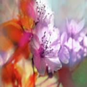Juego Floral Art Print