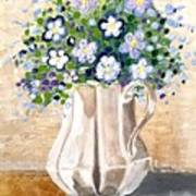 Jug Bouquet Art Print
