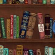 Jugglin' The Books Art Print