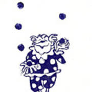 Juggling Clown Art Print