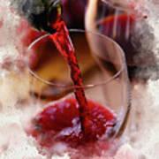 Juice Of The Vine Art Print